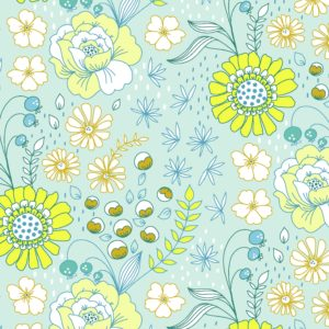 flowers floral illustrative textile design for fabric and surface design repeat, Textile Designs, Surface Designs, Illustration, textildesign, stoffdesign
